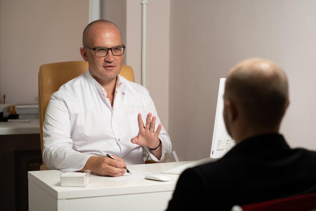 doctor, patient, consultation